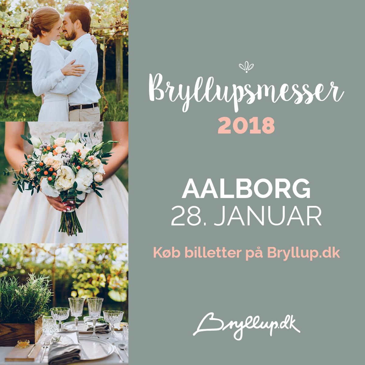 Bryllupsmesse i Aalborg 2018