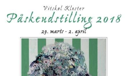 Påskeudstilling på Vitskøl Kloster 2018